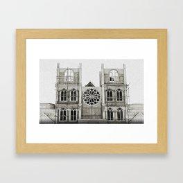Incompletion Framed Art Print