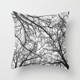 Branching Panorama Throw Pillow