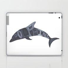 Dolphins Typography Laptop & iPad Skin