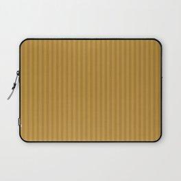 Ochre + Goldenrod Stripe Laptop Sleeve