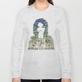Bjork Human Behaviour  Long Sleeve T-shirt