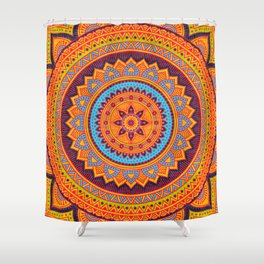 Hippie mandala 67 Shower Curtain