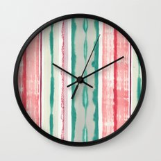 Canyon Stripe Wall Clock