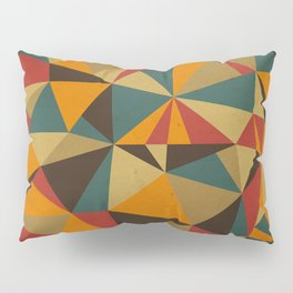 The Colorful Triangle Pillow Sham