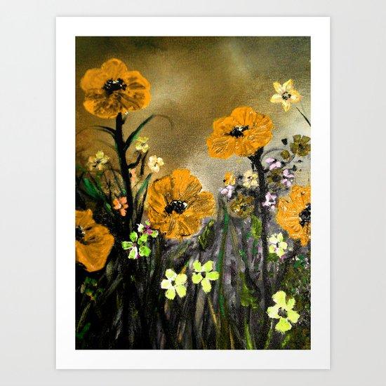 Society6 -Orange you Glad??? I am!! Art Print