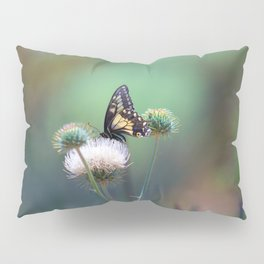 Butterfly Thistle Pillow Sham