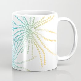 Sand Stars - Blue & Yellow Coffee Mug