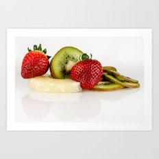 Exotic fruit Art Print
