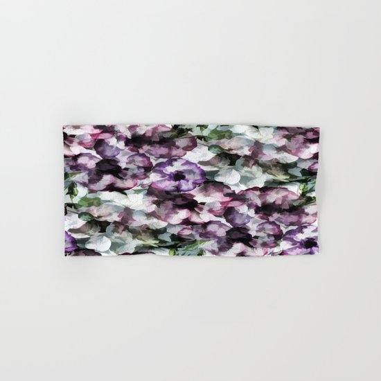 Vintage Floral Abstract Hand & Bath Towel
