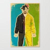 heisenberg Canvas Prints featuring Heisenberg by Danny Haas
