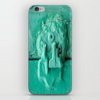 platypus iPhone & iPod Skins featuring Platypus Face  by Ethna Gillespie