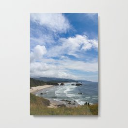 Cannon Beach Oregon, Goonies Location Metal Print