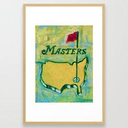 Augusta's Logo Framed Art Print