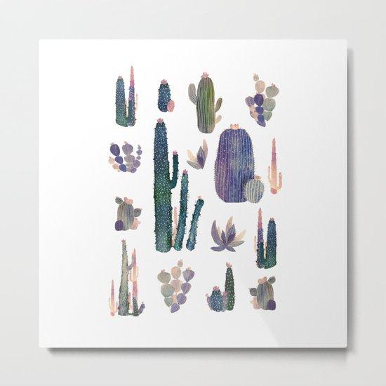 cactus collab franciscomff Metal Print