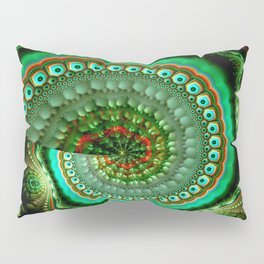 Pretty eyes, swirling pattern abstract Pillow Sham