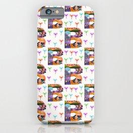 Letter B - Bird iPhone Case