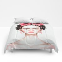 Comforters featuring Frieda by Black Fury