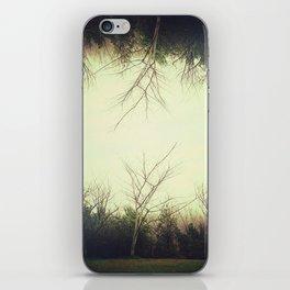 Green trees.  iPhone Skin