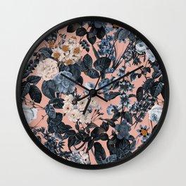 Summer Botanical Garden II Wall Clock