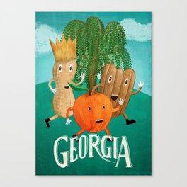 Georgia Canvas Print