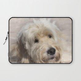 Dog Goldendoodle Golden Doodle Laptop Sleeve
