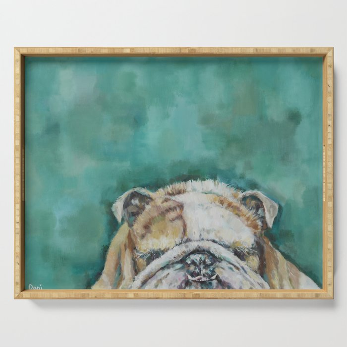 Mr Bulldog Serving Tray