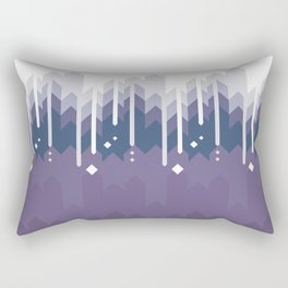 Mountains Abstract Rectangular Pillow