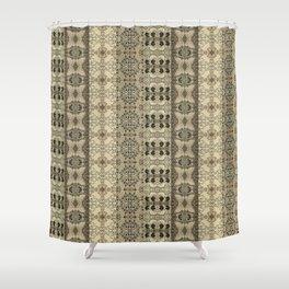 Da Santa Pattern Shower Curtain
