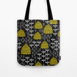 Honey Bees & Hives Tote Bag