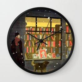 bookstore Wall Clock