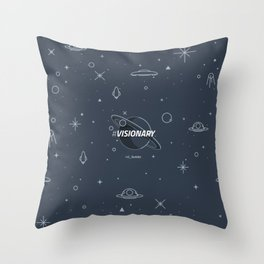 #Visionary Throw Pillow