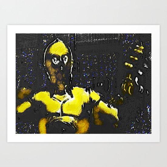 CP3O BY Cd KIRVEN Art Print