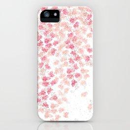 Bougainvillea Floral Vines iPhone Case