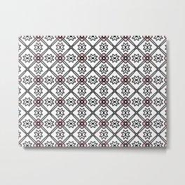 1357 pattern Metal Print