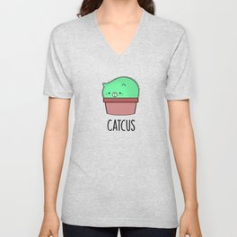 Catcus Unisex V-Neck