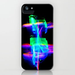 RAINBOW GLOW iPhone Case