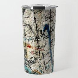 Berlin Wall Graffiti Travel Mug