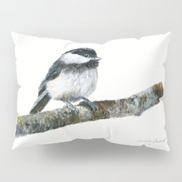 Black-capped Chickadee by Teresa Thompson Pillow Sham