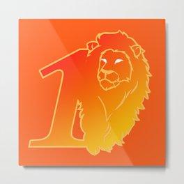 Lion No.1 Metal Print