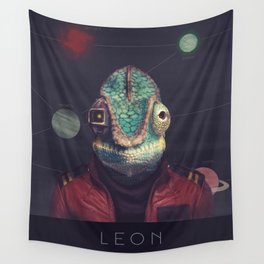 Star Team - Leon Wall Tapestry