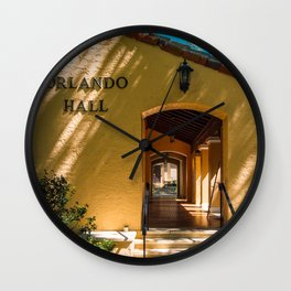 Orlando Hall Department of English Rollins College Winter Park Central Florida Orlando Wall Clock