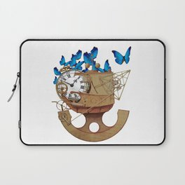 A Time Machine Laptop Sleeve