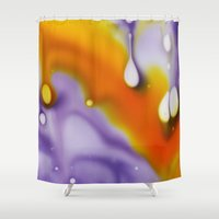 cosmic Shower Curtains featuring Cosmic by Cindi Ressler Photography