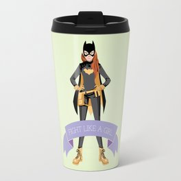 Fight Like a Girl: Batgirl Travel Mug
