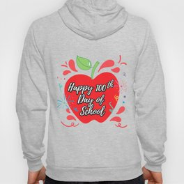 Happy 100th Day Of School For Teachers Or Kids Hoody