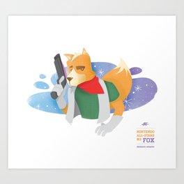 Fox McCloud | Nintendo All-Stars #3 Art Print
