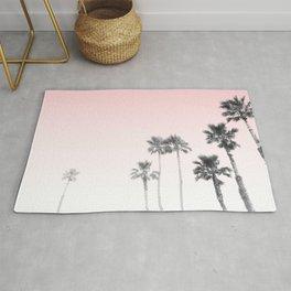 Tranquillity - pink sky Rug