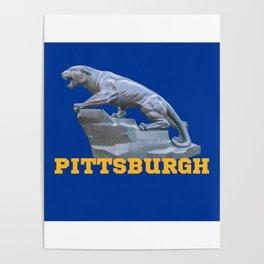 Pittsburgh Panther Print Poster