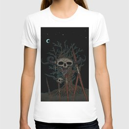 skull on a pike T-shirt