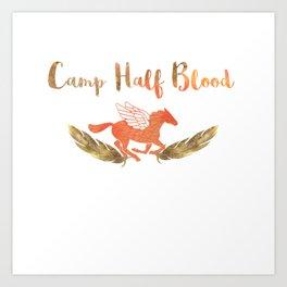 camp half blood v2 Art Print